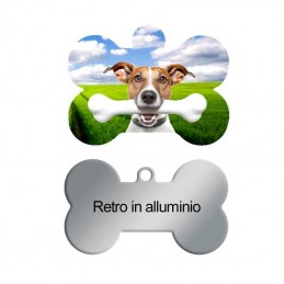 Medaglietta in Alluminio Pets