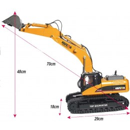 Escavatore metallo RC 2,4G...