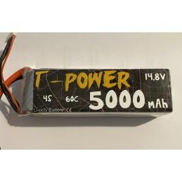 T-Power LIPO 5000-4s-60c