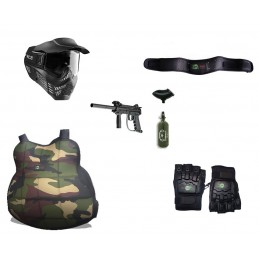 Set di Gioco Paintball Adulti