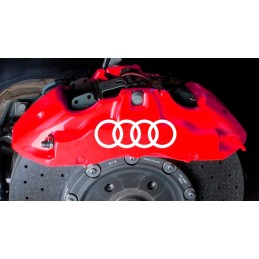 Adesivo Anelli Audi 5 cm 4 Pz